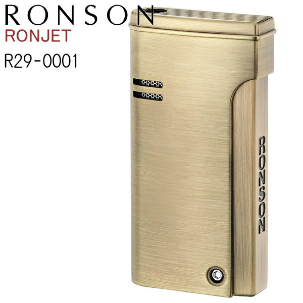 RONSON RONJET ロンソン ロンジェット R29-0001 ブラスサテン バーナーフレームガスライター ターボライター