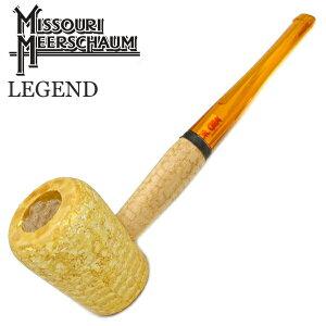 レジェンド コーンパイプ 直 吸い口:オレンジ 6mmフィルター対応 ミズーリメシャム 柘製作所 48930