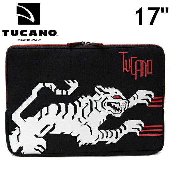 TUCANO トゥカーノ おしゃれなパソコンケース 17インチ No Curves 17 ノーカーブス 【ホワイトタイガー】 優しくしっかり包む セカンドスキン ノートパソコンプロテクトケース トゥッカーノ BFNC17