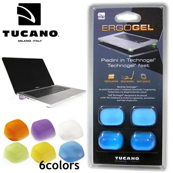 TUCANO トゥカーノ エルゴゲル ノートパソコン放熱用フットパッド 傾斜タイプ ERG22 Technogel