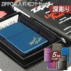 【名入れZIPPO】ジッポーにネーム彫刻したギフトセット(ギフトボックス、オイル、フリント付き)ZIPPO名入れセット名入れ対応