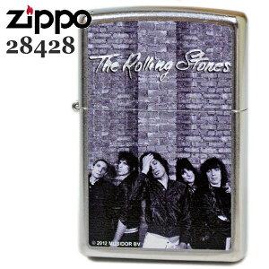 ZIPPO ジッポーライター 28428 ローリングストーンズ ストリートクローム ジッポーオイルライター zippo メンズ ギフト