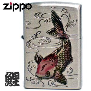 ZIPPO ジッポー 鯉 エポキシ レッド 63380198 かわいいZIPPOライター オイルライター ギフト