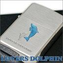 ZIPPO ジッポー ラバーズドルフィン ブルー イルカ 63400298 かわいいZIPPOライター
