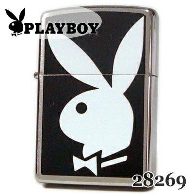 ZIPPO ジッポー 28269 PLAYBOY Bunny Logo プレイボーイ バニーロゴ ブラッシュクローム ZIPPOライター【誕生日】【記念日】【母の日】【父の日】【ギフト】
