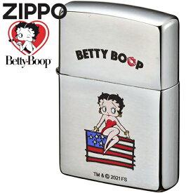 ZIPPO ライター ジッポー ベティブープ フラッグ 70670 かわいい オイルライター ベティちゃん ZIPPOライター ハッピーラボラトリー ジッポ 誕生日 記念日 ギフト