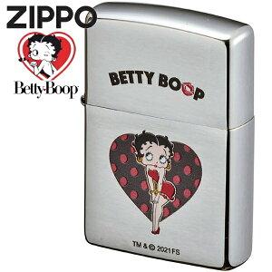 ZIPPO ライター ジッポー ベティブープ ハート 70671 かわいい オイルライター ベティちゃん ZIPPOライター ハッピーラボラトリー ジッポ 誕生日 記念日 ギフト