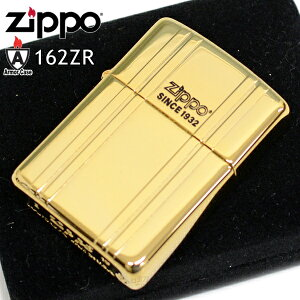 ZIPPO ジッポー 162ZR-GDM Armor アーマー ゴールドミラー 金色 ZIPPO オイル ライター メンズ ギフト