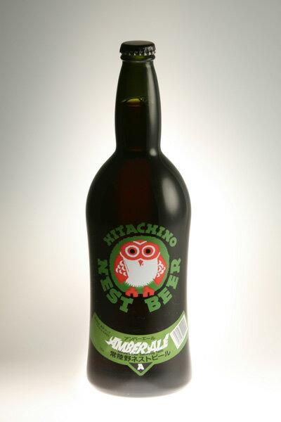 【常陸野ネストビール】アンバーエール Amber Ale 720ml【クラフトビール】【地ビール】【ビール】