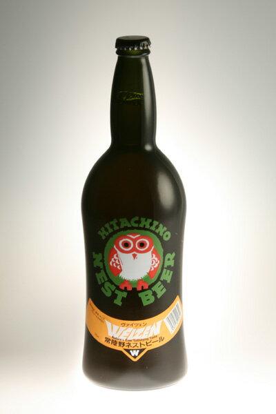 【常陸野ネストビール】ヴァイツェン Weizen 720ml【クラフトビール】【地ビール】【ビール】