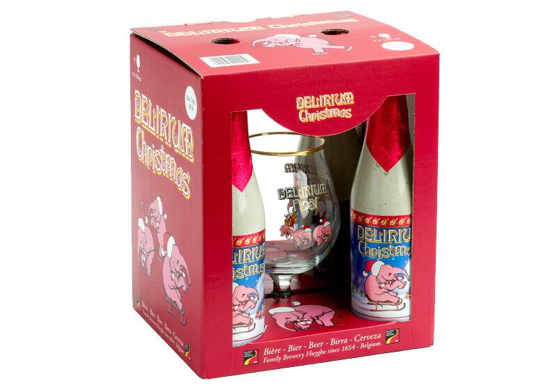 【入荷済み】【クリスマス限定入荷】デリリュウム・クリスマス グラス付き ギフトボックス