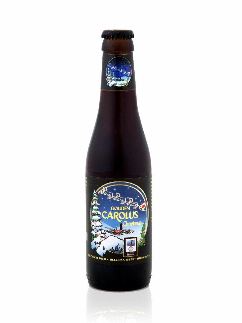 【入荷済み】【クリスマス限定入荷ベルギービール】グーデン・カロルス・クリスマス330ml