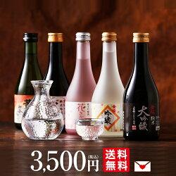 黄桜300ml5種まごころセット(送料込み3,500円)