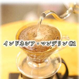 自家焙煎珈琲 コーヒー豆 インドネシア マンデリン G1 500g アイスコーヒー グレード1 酸味少なくしっかとしたコクのあるコーヒーです。indonesia mandeline coffee