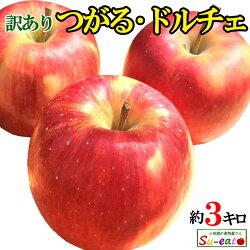【8月上旬発送開始予定】送料無料訳あり葉とらず味極みりんご減農薬長野県産小布施産地直送鮮度抜群獲れたて3キロ