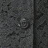 여름용 블랙 포멀 블라우스(보텀 별도 판매) 레이디스 부인 예복 상복:EU-50610P03Dec16