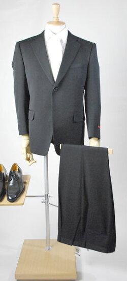 日本製*合服*ブラックスーツシングル略礼服RM16100★パンツ裾未処理10P09Jul16