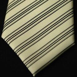 【モーニング用】西陣織白黒・縞ネクタイ(レジメンタル柄):AT9243-k5商品で柄の位置が違う場合あり結婚式の仲人・お父様用に最適10P13Dec14