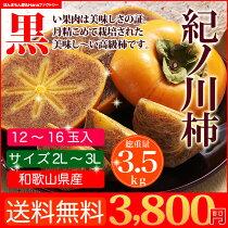 店長激オシ!木の上で渋を抜いた和歌山の柿の逸品!「紀ノ川柿」
