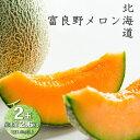 北海道 富良野 メロン 赤果肉 2玉入り 1玉1.3kg以上 お中元 ギフト 赤肉メロン お中元ギフト フルーツギフト