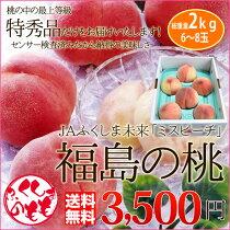 店長激オシ送料無料!甘い果汁たっぷり!福島県産「桃」5kg(特秀品)