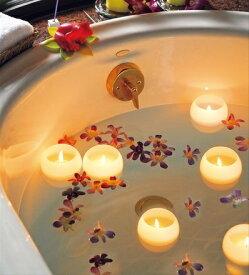 父の日 送料無料 Bath Candle ぷかぷかバスキャンドル  5色セット アロマキャンドル おしゃれプレゼント お風呂 癒し フロートキャンドル 父の日