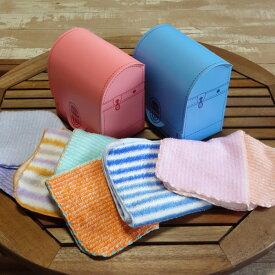 ランドセルパッケージ タオルハンカチ3枚入り ギフト 新入学祝い 卒園祝い 日本製 プレゼント 赤 青