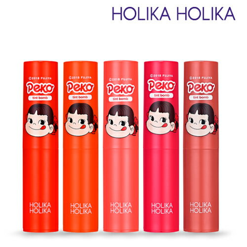 HolikaHolika/ホリカホリカ×不二家コラボ商品《スイートペコエディション》ウォータードロップティントバーム(Water Drop Tint Bomb) 2.5g/全5色