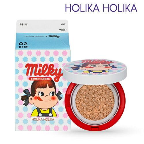 HolikaHolika/ホリカホリカ×不二家コラボ商品《スイートペコエディション》スイートペコミルキーパーフェクトクッション 14g 限定