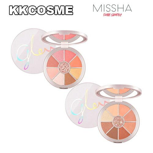 MISSHA ミシャ GLOW CORAL LOOK PALETTE グローコラールルックパレット カラーフィルターアイシャドウパレット 韓国コスメ