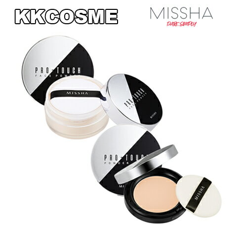 MISSHA (ミシャ) - ミシャ プロタッチ パウダー パクト/ フェイスパウダー(PRO TOUCH POWDER PACT/POWDER) SPF25 / PA++ [4タイプ]