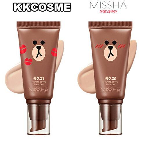 MISSHA ミシャ LINEフレンズ エディション パーフェクト カバー BBクリーム SPF42 PA+++