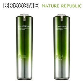 nature republic ネイチャーリパブリック ジンセン ロイヤル シルク スキン 120ml 化粧水 エマルジョン 120ml 乳液 6年根高麗人参 ゴールド ローヤルゼリー 含有