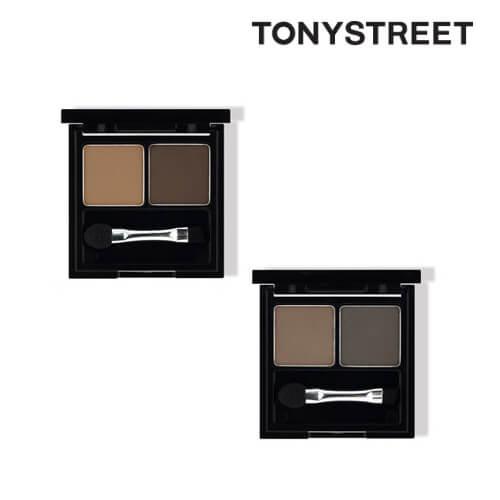 (TonyMoly トニーモリー )イージータッチケーキアイブロウ/1号ナチュラルブラウン/2号グレーブラウン選択 2個 カラー