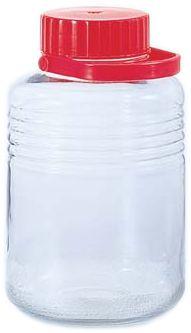 【日本製】 アデリア 貯蔵瓶  A型10号 8L 梅酒びん(果実酒びん) 【50off】