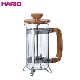 送料無料 HARIO ハリオ  CPSW-2-OV カフェプレス ウッド コーヒー & ティー プレス 2人用