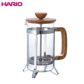 送料無料 HARIO ハリオ  CPSW-4-OV カフェプレス ウッド コーヒー & ティー プレス 4人用