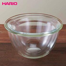 ハリオ MXP-2606 耐熱ガラス製 ボウル2個セット 満水容量1,500ml/2,200ml