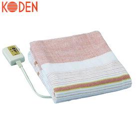 【送料無料】 広電 電気敷毛布 電気毛布 130×80cm オレンジ/ストライプ VWS401-B