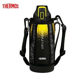 送料無料 サーモス FHT-800F BK-C 水筒 真空断熱スポーツボトル ブラックカモフラージュ 0.8L