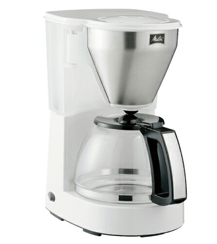 送料無料 メリタ ミアス コーヒーメーカー ホワイト MKM-4101W