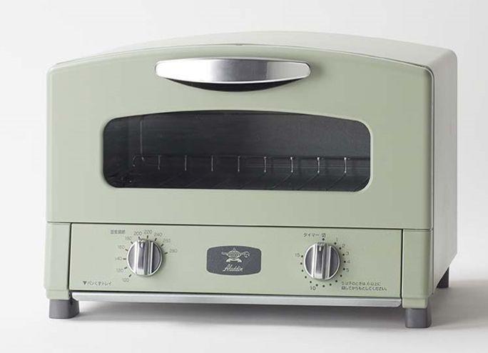 送料無料 アラジン グラファイトトースター グリーン CAT-GS13AG