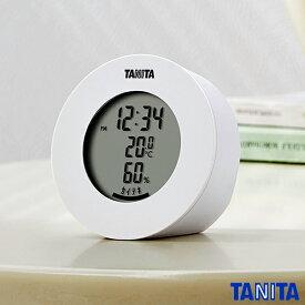 送料無料 タニタ TT585WH デジタル温湿度計 ホワイト