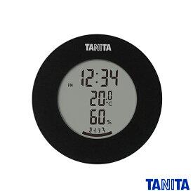 送料無料 タニタ TT585BK デジタル温湿度計 ブラック