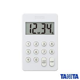 【送料無料メール便専用】タニタ TD415WH デジタルタイマー ホワイト