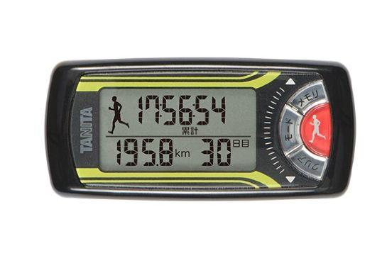 【送料無料メール便専用】 タニタ 活動量計 カロリズム for Jogging メタリックブラック EZ-063BK