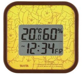 タニタ デジタル温湿度計 ディズニープーさん TT-DY01PO