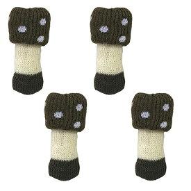 【送料無料メール便専用】東洋ケース chair socks Kinoko チェアソックス  クリイロタケ CSK-KNK-03