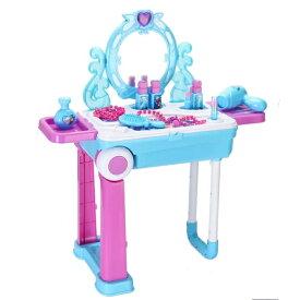 ディズニー(Disney) アナと雪の女王 ドレッサー おままごと 姫系 鏡台 おもちゃ メイクアップ コスメ ジュエリー コスメティック アナ雪 エルサ フローズン プリンセス おもちゃ 玩具 コスメセット お化粧 セット