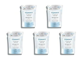 【お得な5個セット】TOAMIT 東亜産業 アルコール ハンドジェル つめかえ用 500ml AL500 植物由来成分配合 速乾性 エタノール 潤い 保湿 しっとり 大容量 詰め替え 衛生 アルガンオイル ハンド ジェル 詰替 TMHG65-500 (5)